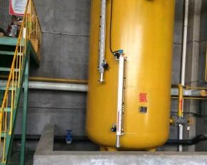 高压储液桶液氨实例