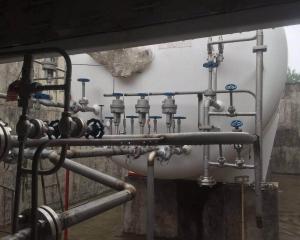 莒南LNG加气站工地